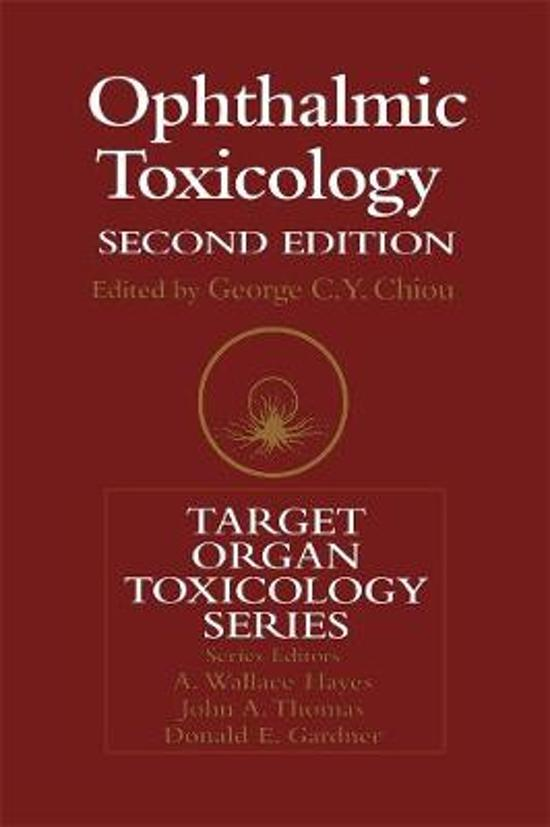Ophthalmic Toxicology