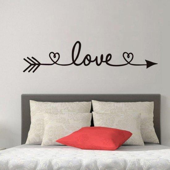 bol.com | Muursticker love figuur | slaapkamer - woonkamer | modern ...