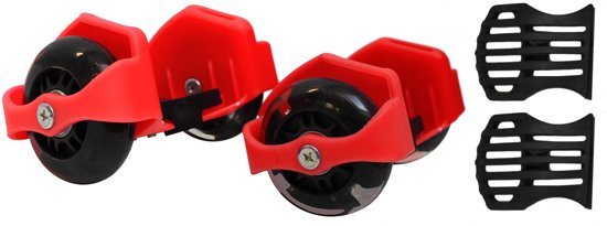 Flashing rollers max. 90kg rood