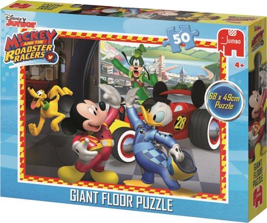 Mickey and the Roadster Racers Giant Floor Puzzle Vloerpuzzel 50 Stukjes