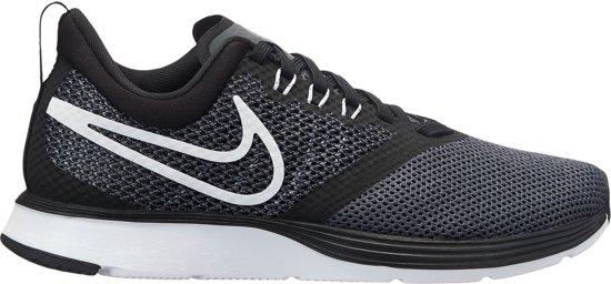 Nike Strike (GS) Hardloopschoenen - Maat 40 - Unisex - zwart/antraciet