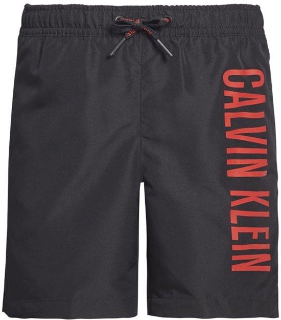 Zwembroek Zwart.Bol Com Calvin Klein Jongens Zwembroek Zwart 140 152