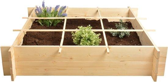 Esschert Design - Vierkante meter moestuin - vurenhout