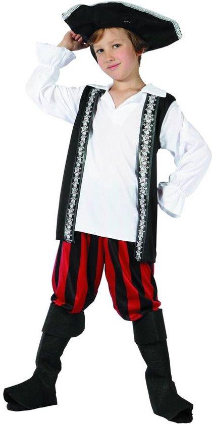 Chique piraten outfit voor jongens  - Verkleedkleding - 134-146