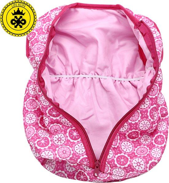 B-Merk Baby Born slaapzak, roze/wit