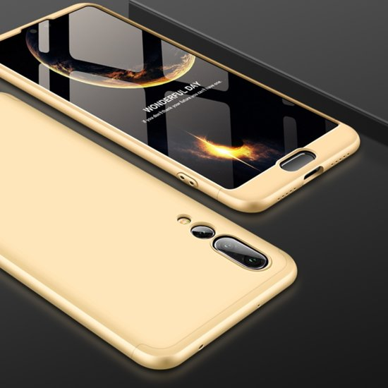 2a3d7dd1dba bol.com | Mobigear 360 Hardcase Goud Huawei P20 Pro
