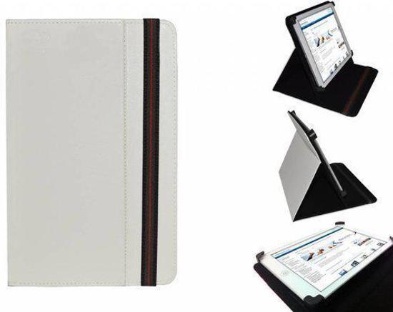 Uniek Hoesje voor de Digiko Dk700n - Multi-stand Cover, Wit, merk i12Cover