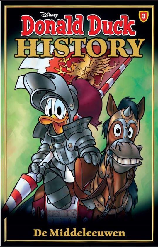 Boek cover Donald Duck History Pocket 3 - De Middeleeuwen van Sanoma Media NL. Cluster : Jeu (Onbekend)