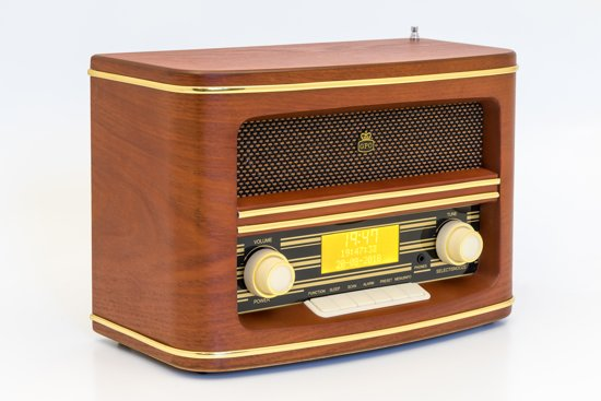 GPO Winchester Retro Radio DAB+ Wood