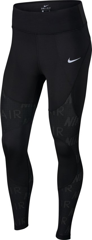 Nike Air 7_8 Tght Sportlegging Dames - Black/(White) - Maat M