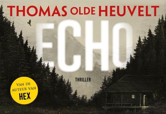 Boek cover Echo - dwarsligger (compact formaat) van Thomas Olde Heuvelt (Onbekend)
