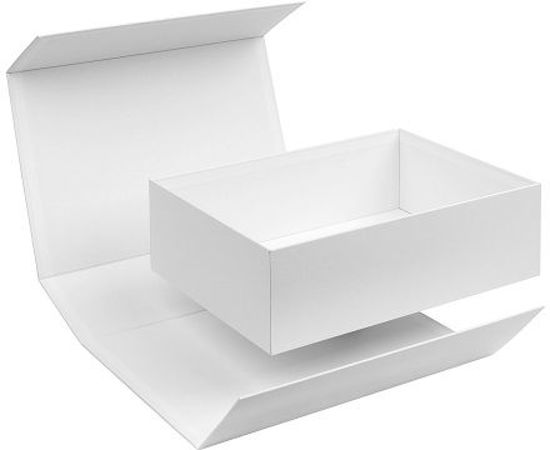 Geschenkdoos Box in the Box 22x16x7cm, WIT (4 stuks)