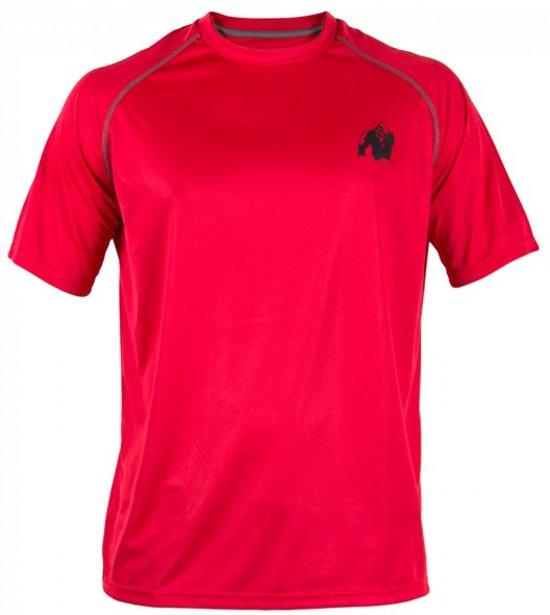 Gorilla Wear Performance t-shirt Red/black - XL