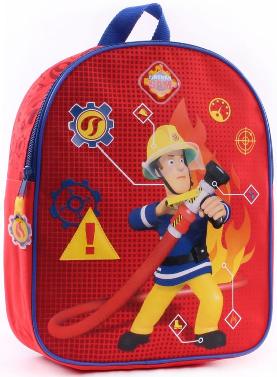 7a4372ecb4d bol.com   Fireman Sam In Case of Emergency Rugzak