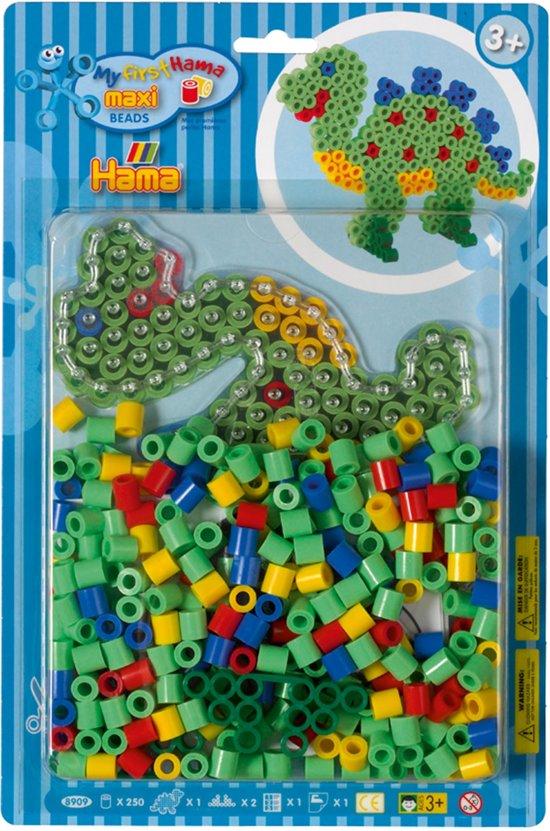 HAMA Maxi Blister Dino 250 Stück Basteln & Kreativität