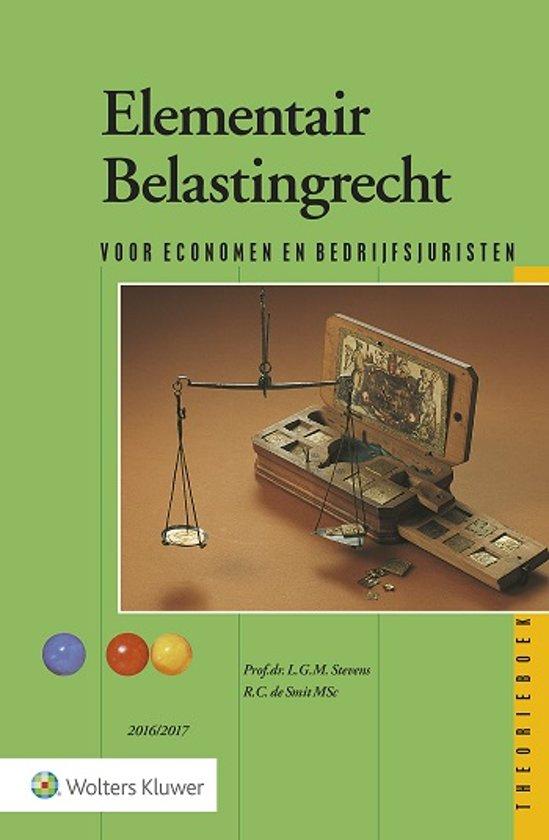 Elementair Belastingrecht 2016/2017