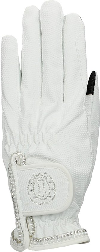 Imperial Riding Handschoen Loraine - White - Maat L