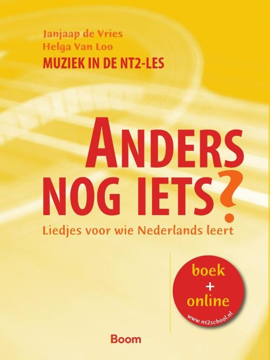 Boek cover Anders nog iets ? / NT2 liedjes van Jonas de Vries (Paperback)