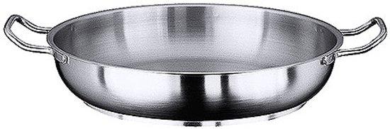 Paellapan Inductie Rvs Handvatten Ø24cm