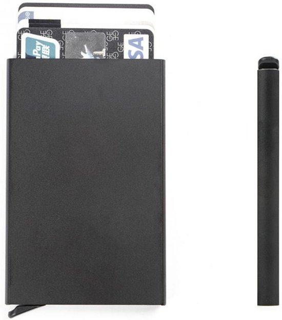 RFID Cardprotector - Anti Skim - Creditcard Holder - Pasjeshouder - Portemonnee - Zwart