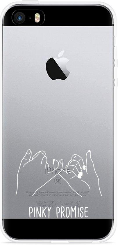 iPhone 5/5S/SE Hoesje Pinky Promise