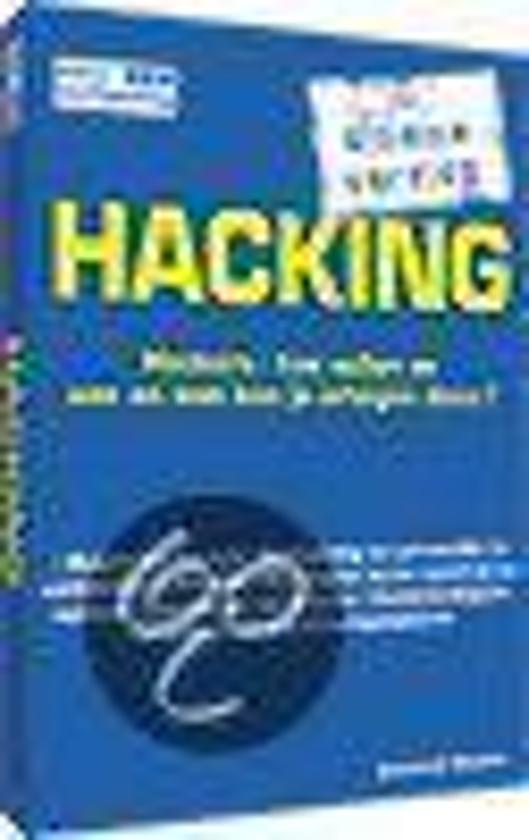 Cover van het boek 'Hacking'