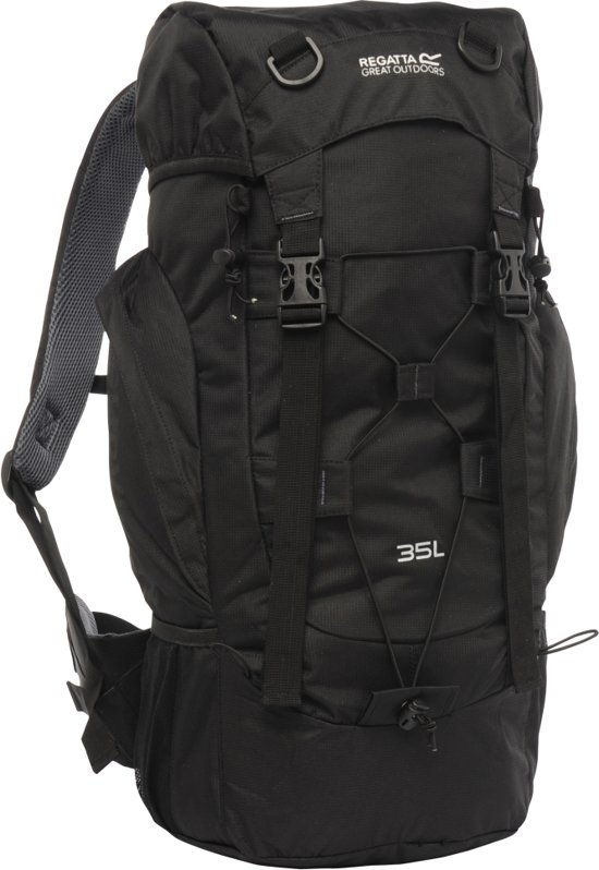 regatta survivor ii 35 backpack 35 liter zwart. Black Bedroom Furniture Sets. Home Design Ideas