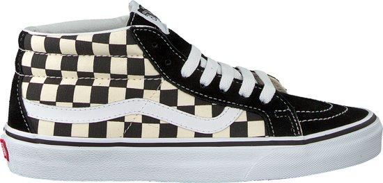 bol.com | Vans Dames Sneakers Sk8 Mid Reissue Checkerboard ...