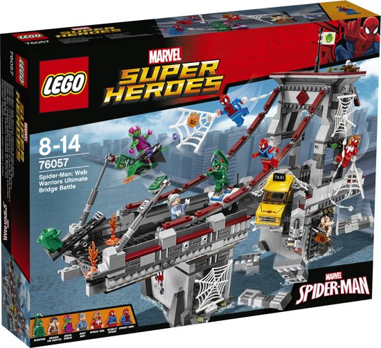 LEGO Super Heroes Spider-Man Web Warriors Ultiem Brugduel - 76057