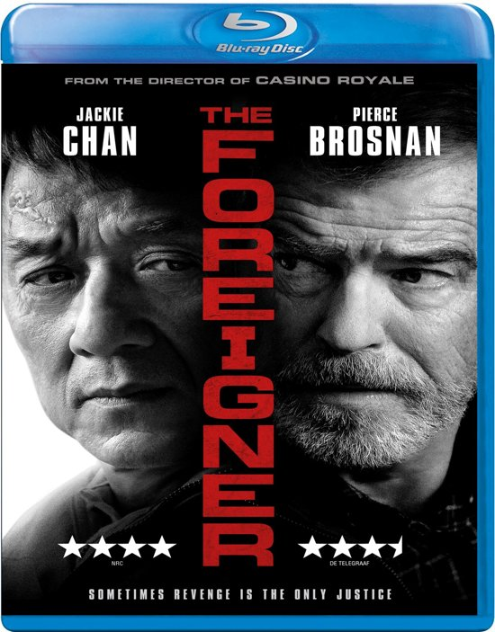 DVD cover van The Foreigner (Blu-ray)