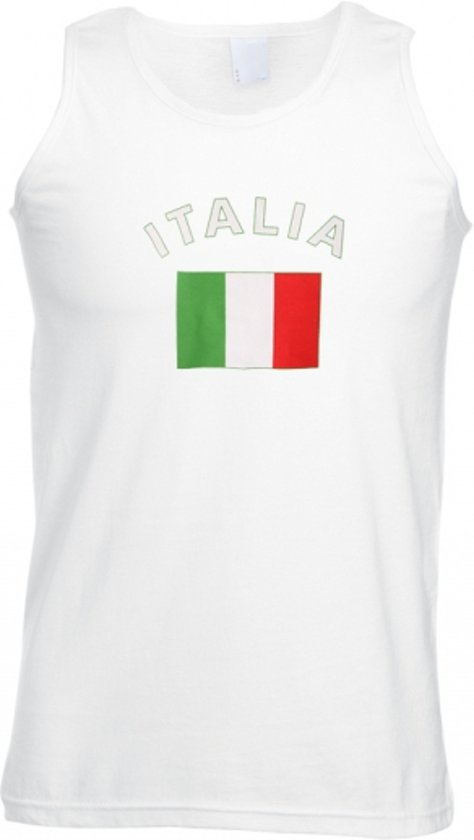 Italie tanktop heren L