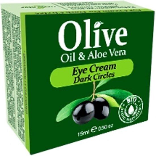 HerbOlive Oog Crème tegen Donkere Cirkels *Olijfolie & Aloe Vera* 15ml