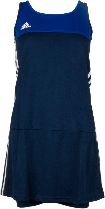 adidas T16 'Oncourt' Jurk Dames Shirts blauw donker XL