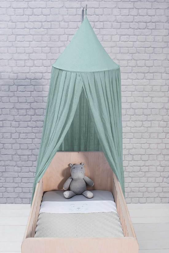 Jollein Little lion Laken 75x100cm soft grey