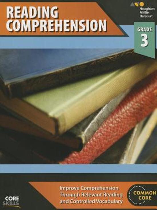 Steck-Vaughn Core Skills Reading Comprehension