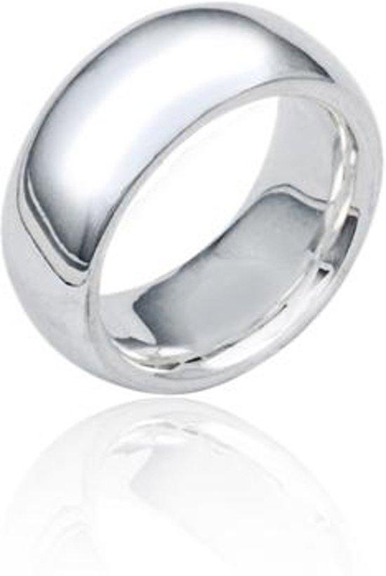zilveren ring dames zonder steen