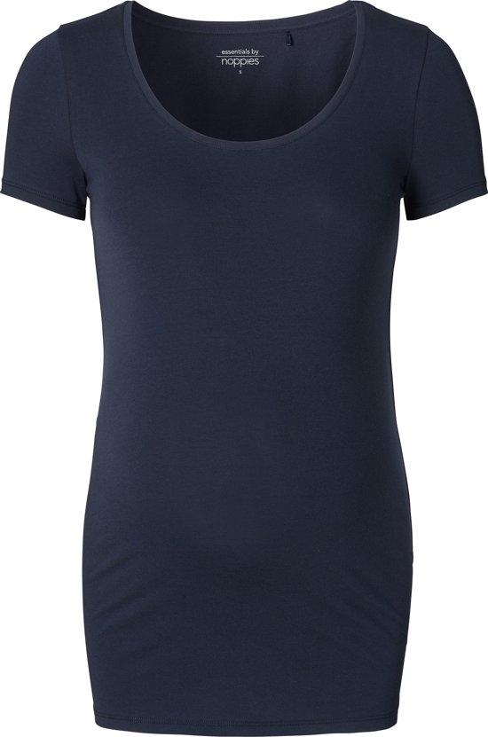 Noppies Zwangerschaps-T-shirt Amsterdam - Korte mouw - Dark Blue - XS