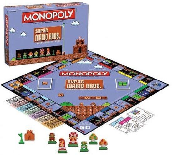 Afbeelding van het spel Super Mario Bros 8-Bit Monopoly