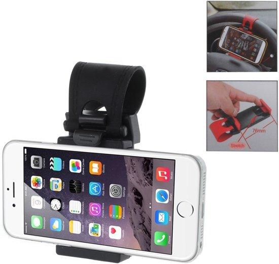 Universele Telefoon Auto Stuur houder Smartphone autohouder