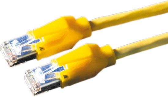 Draka UC400 HP-U/FTP netwerkkabel geel - CAT6 - 2 meter in Sluis