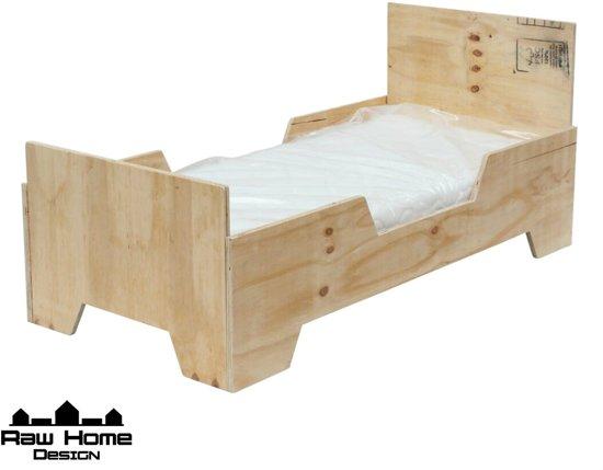 Super bol.com | Peuterbed Floor Junior 150x70 hout AM-56