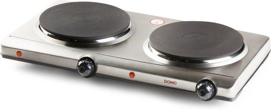 Domo DO311KP - Dubbele Kookplaat