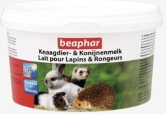 Beaphar voedingsset zuigflesje + knaagdier-& Konijnenmelk 200 gram.