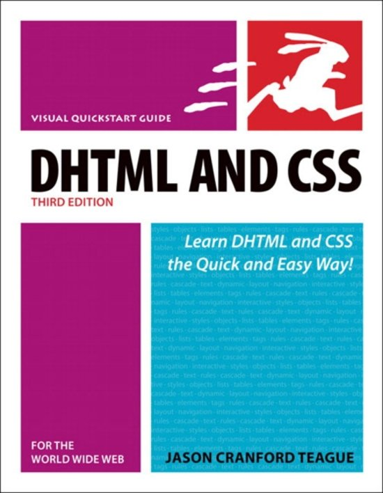 Bolcom Dhtml And Css For The World Wide Web Visual Quickstart