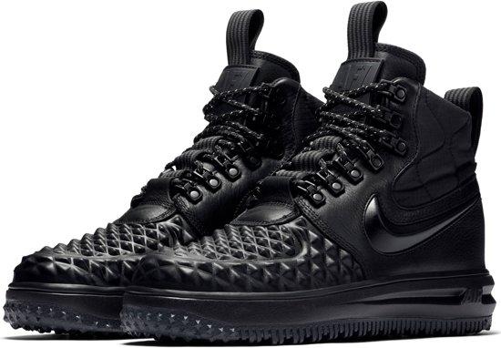 Nike Lunar Force 1 Duckboot Sneakers - Maat 38.5 - Vrouwen - zwart