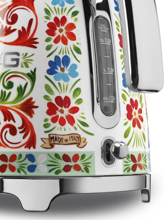 Smeg Dolce & Gabbana 'Sicily is my Love' Waterkoker - 1,7 L