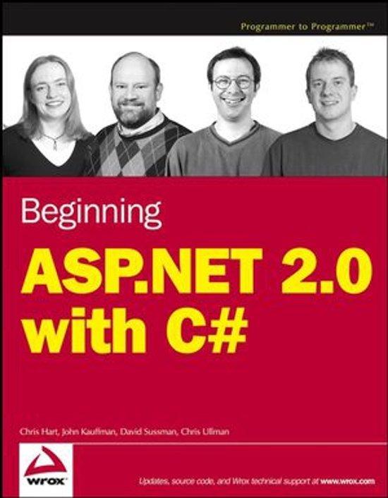 Beginning Asp.Net 2.0 With C#