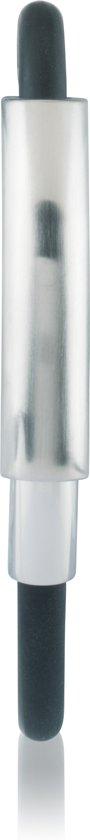 Slate - Stalen plaatarmband 21 cm - Met stalen tussenstuk