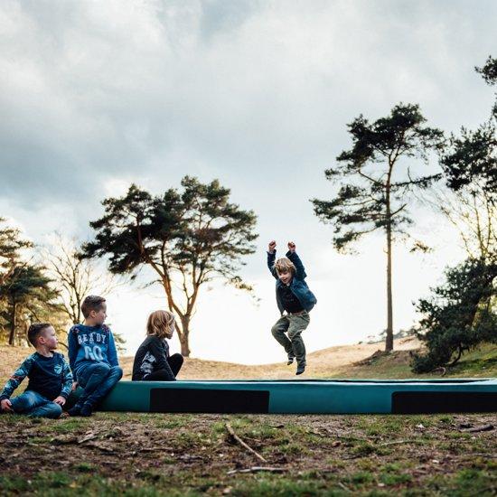 Etan Inground Hi-Flyer Trampoline Ø305 cm - Groen - Rond - Zeer veilig - Hoog springcomfort