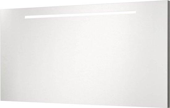 Saqu Sumara Spiegelpaneel Met LED verlichting bovenzijde 120cm